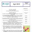 April 2015 Care A Gram
