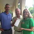 Check Presentation from Ocean Club Hutchinson Island Marriott