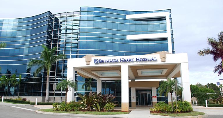 Boynton Beach Florida Palm Beach County Bethesda Hospital East
