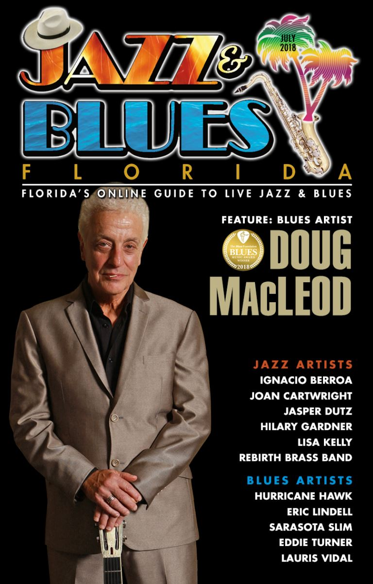 Jazz & Blues Florida July 2018 Edition