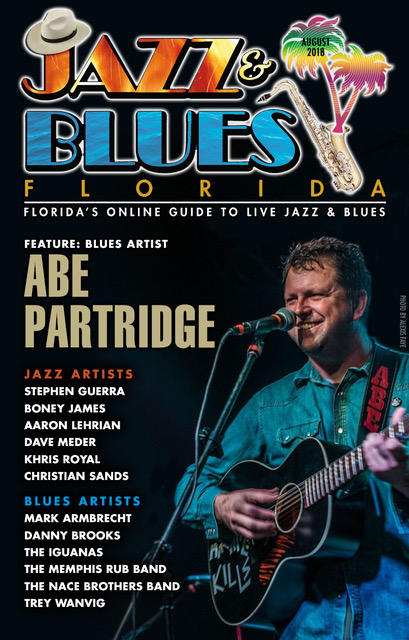 Jazz & Blues Florida August 2018 Edition