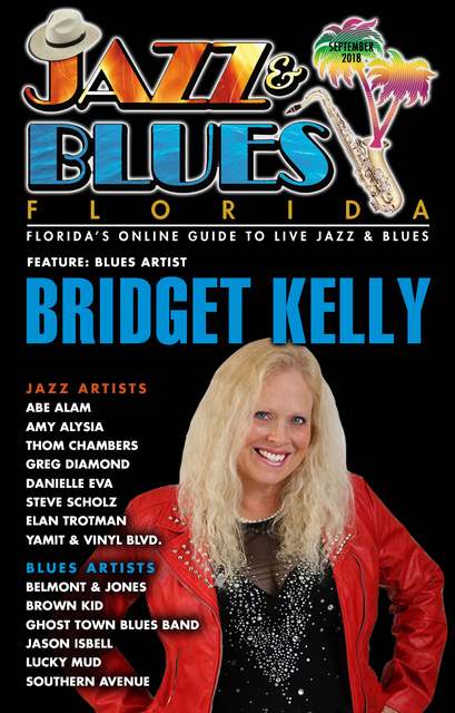 Jazz & Blues Florida September 2018 Edition
