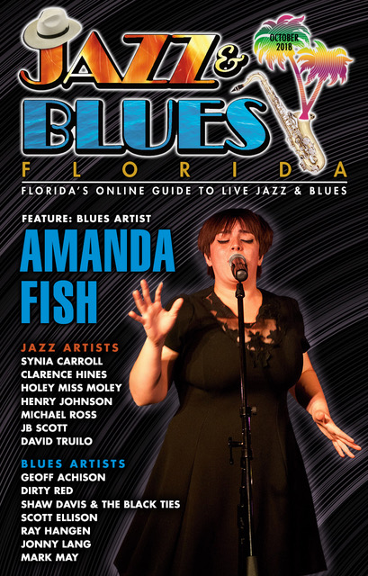 Jazz & Blues Florida October 2018 Issue