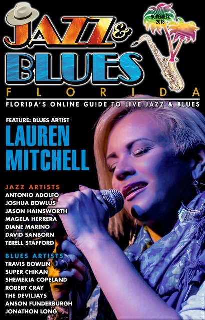 Jazz & Blues Florida November 2018 Issue
