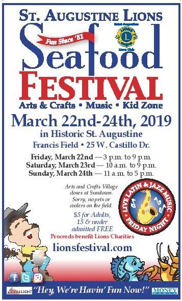 St.Augustine Lions Seafood Fest