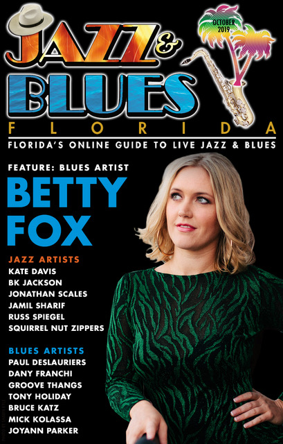 Jazz & Blues Florida October 2019 Issue