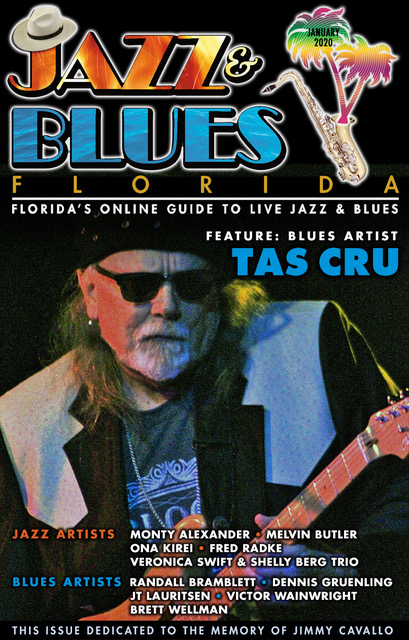 Jazz & Blues Florida January 2020 Issue #JazzBluesFlorida