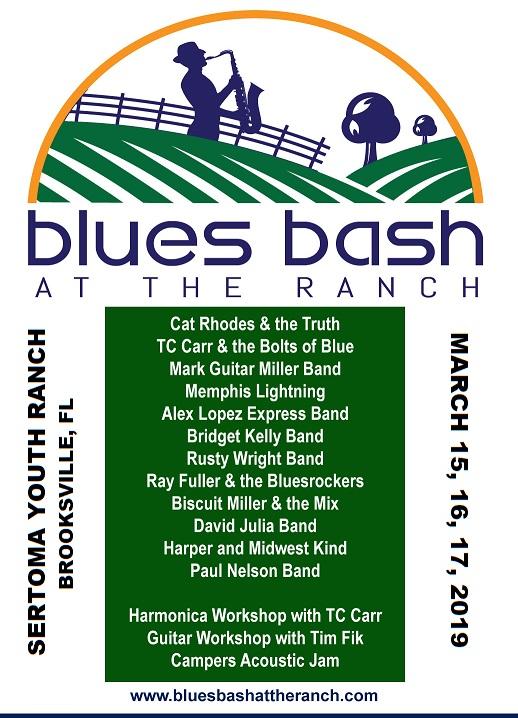Blues Bash at the Ranch #JazzBluesFlorida #Blues #Festivals