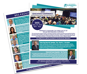 Download the full 2019 Education Conference Save the Date Flyer