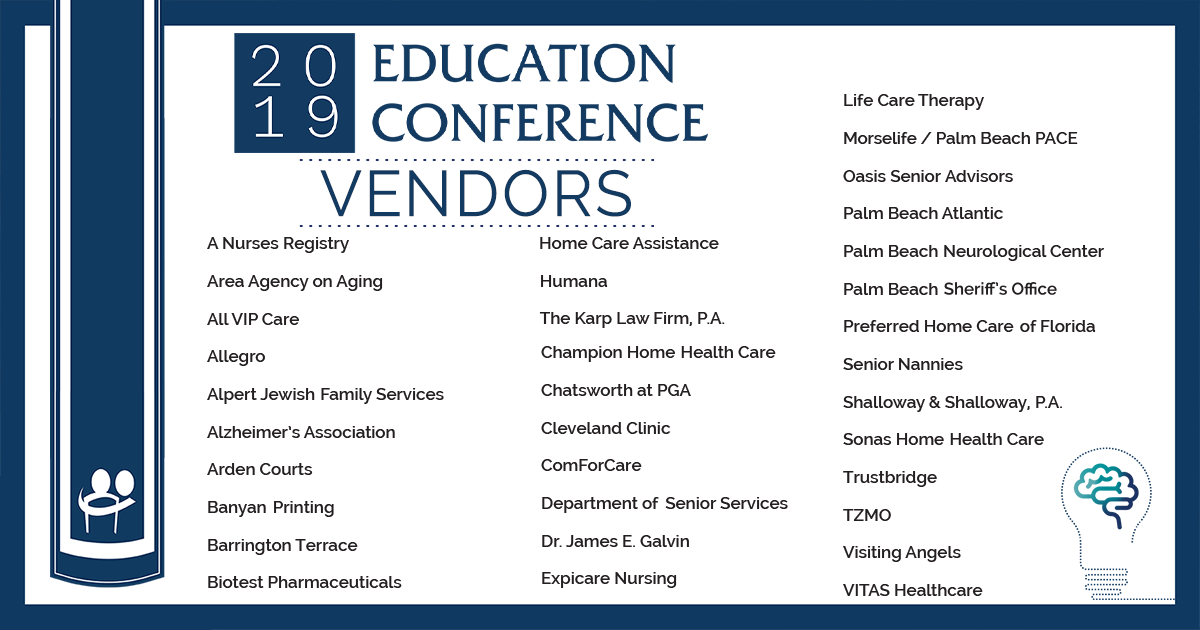 Thank you to our Vendors