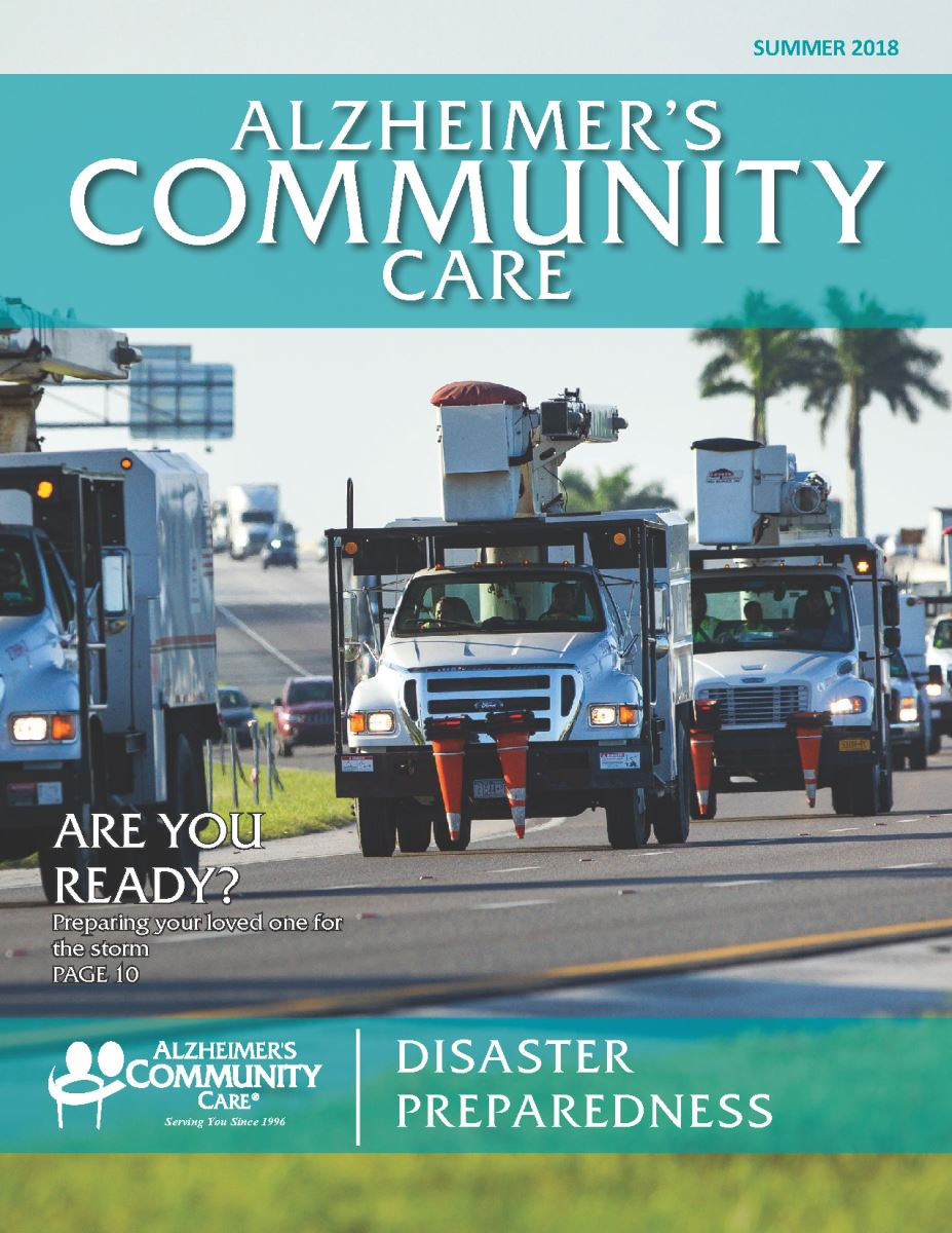 Alzheimer's Community Care Magazine - Summer 2018 (Cover)