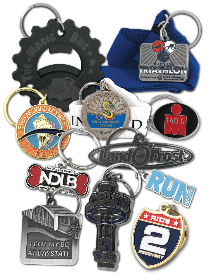 Custom Designed Promotional Key Chains & Key Rings