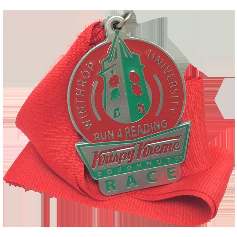 Custom acrylic medallions from Ashworth Awards.