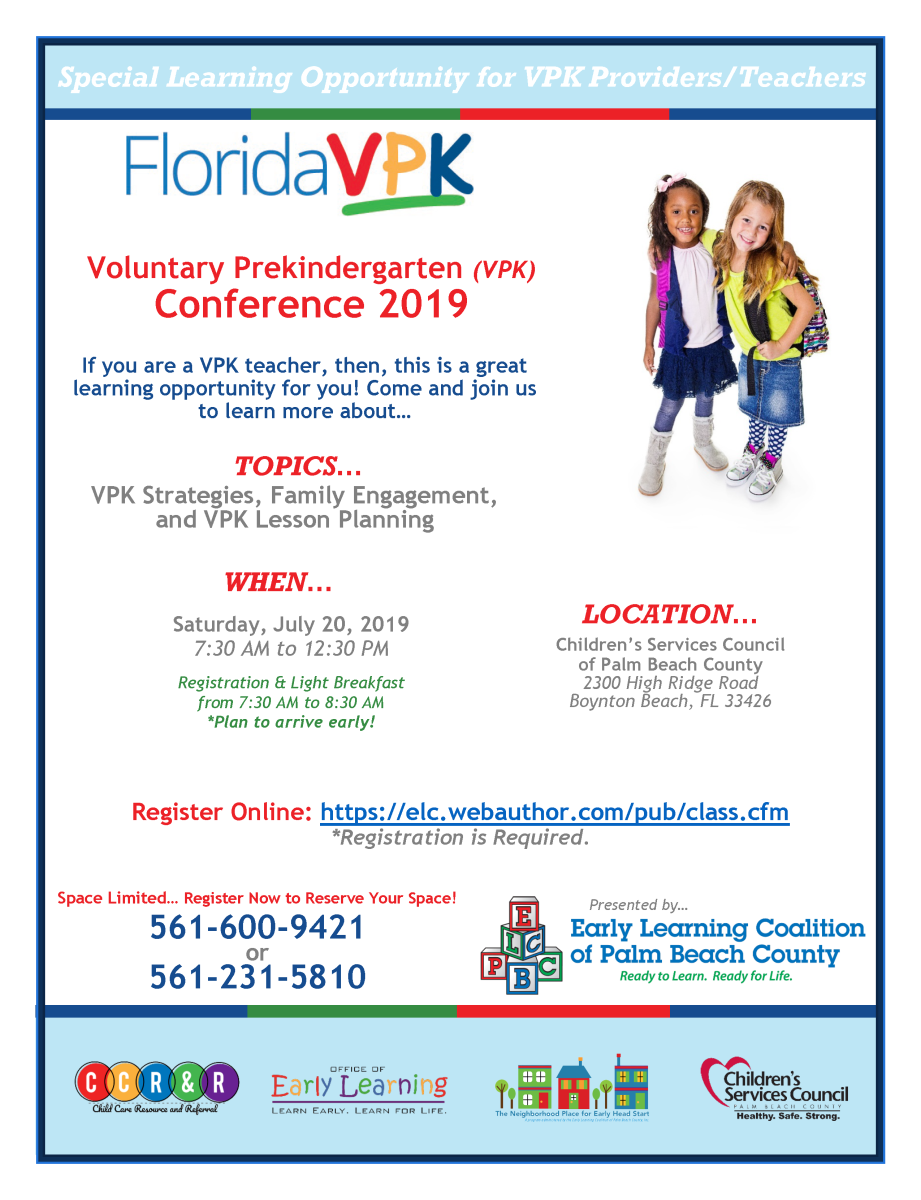 Child Care Provider Training: Voluntary Prekindergarten (VPK