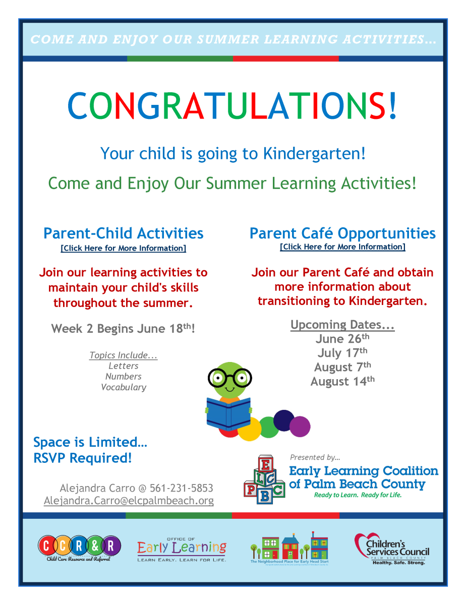 VPK (Transition-To-Kindergarten) | Early Learning Coalition of Palm