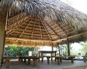 outdoor classroom under chiki
