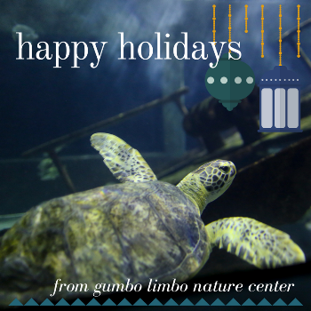 happy holidays from Gumbo Limbo Nature Center