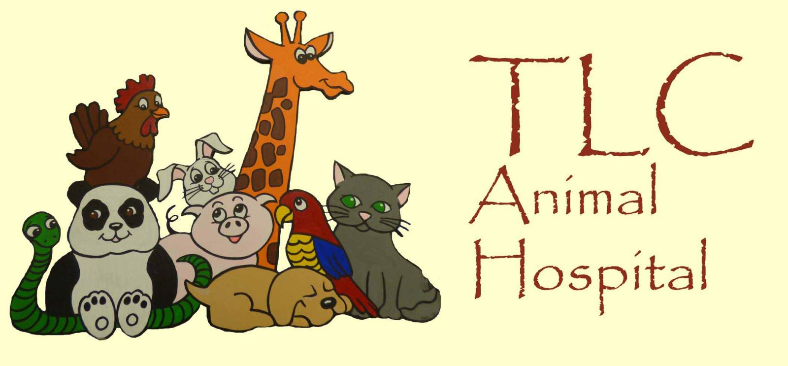 TLC Animal Hospital logo