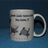 gumbo limbo mug with turtles
