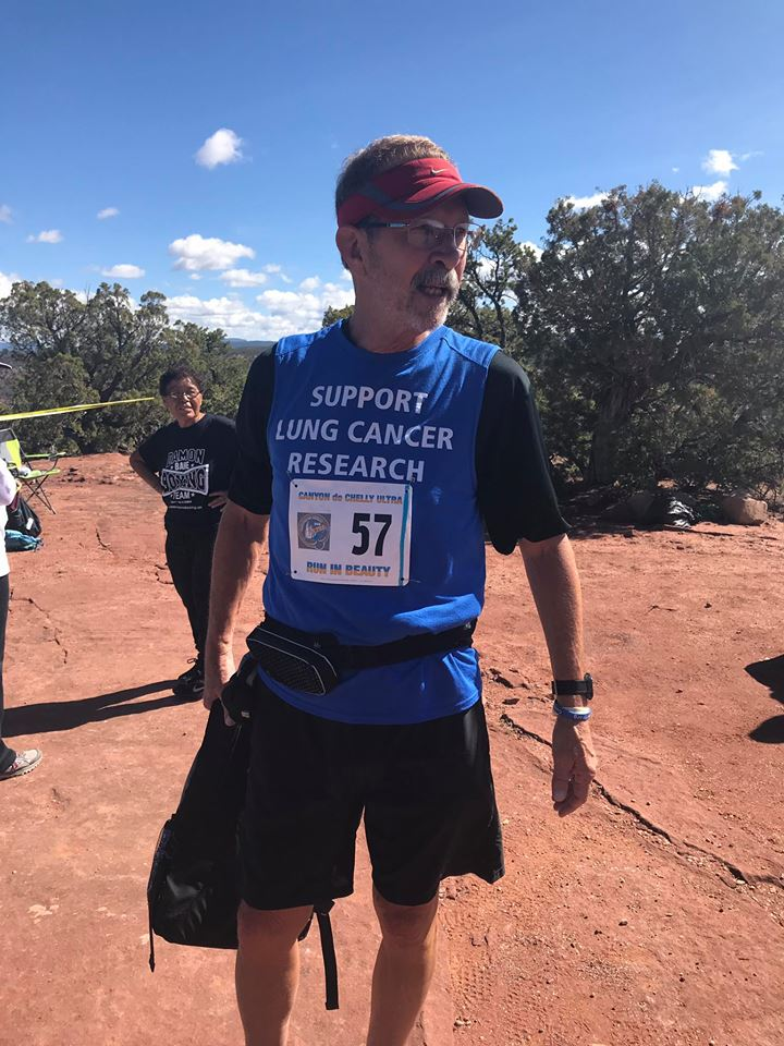Lung Cancer Survivor <br> Completes Ultra-Marathon
