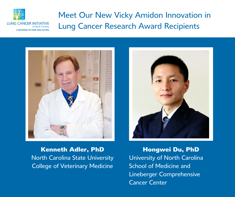 Lung Cancer Initiative Awards Two Innovation in Lung Cancer Research Grants