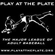 Play at the Plate Baseball