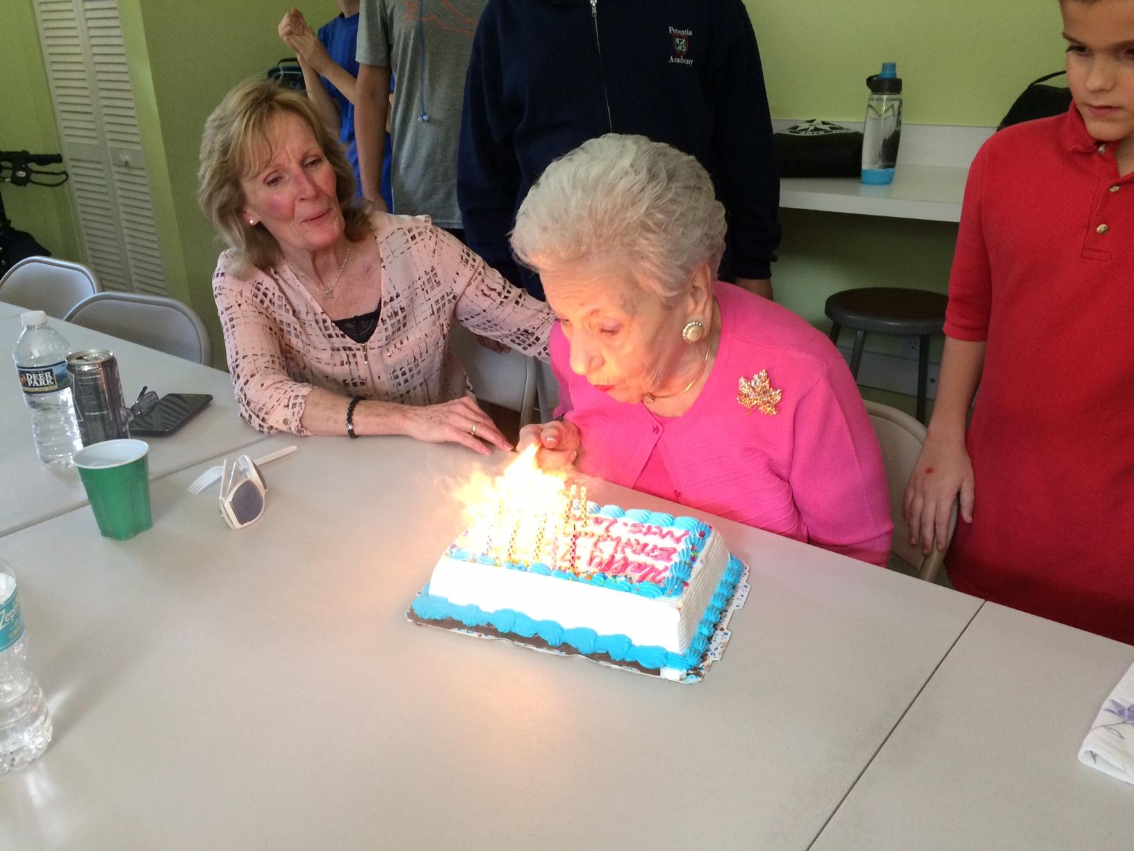Mrs. Langan Celebrates 101st Birthday