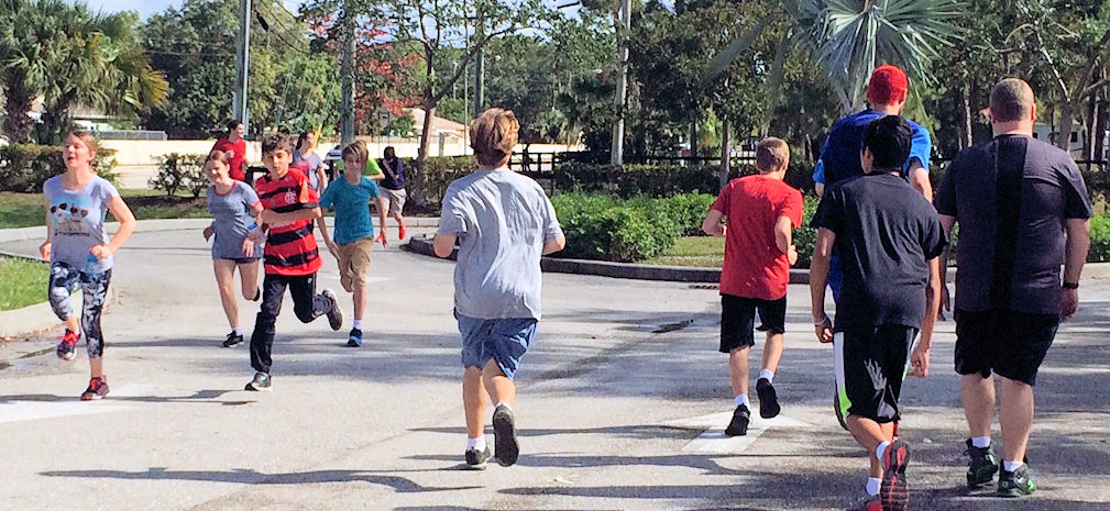 Students Train for Rooney 5K