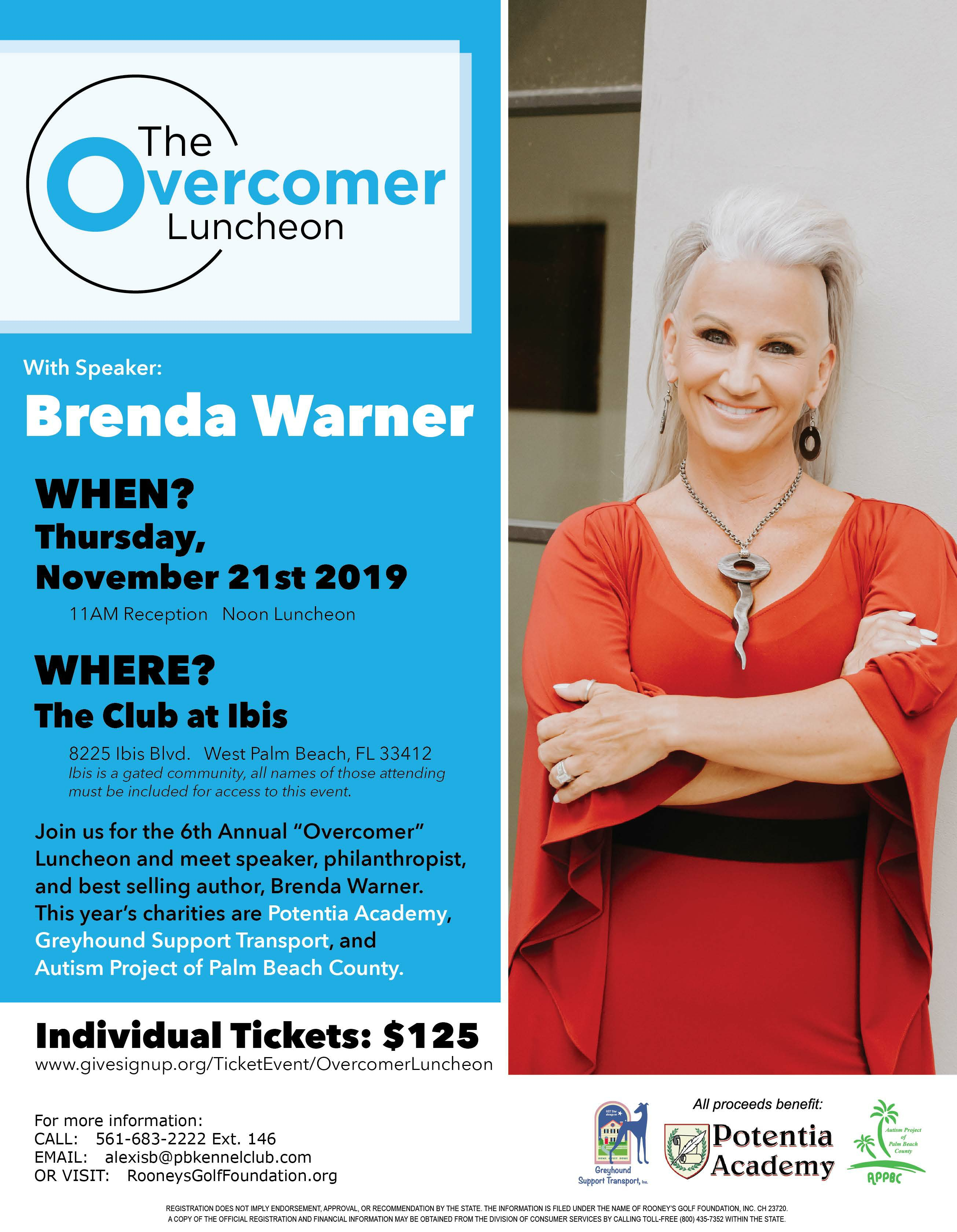 6th Annual Overcomer Luncheon A Huge Success!