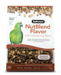 ZuPreem® NutBlend™ Flavor Diets